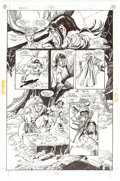 Original Comic Art:Panel Pages, Gil Kane The Ring of the Nibelung #3 Page 11 (DC, 1989)....