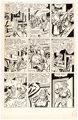 Jerry Robinson Crime Exposed #13 Christmas-Themed Story Page 5 Original Art (Marvel Comics, 1952)