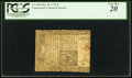 Colonial Notes:Connecticut, Uncancelled Connecticut May 10, 1770 5s PCGS Very Fine 20.. ...