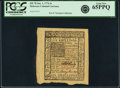 Colonial Notes:Delaware, Delaware January 1, 1776 6s PCGS Gem New 65PPQ.. ...