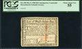 Colonial Notes:Massachusetts, Massachusetts Contemporary Counterfeit May 5, 1780 $20 PCGS Choice About New 55.. ...