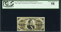 Fractional Currency:Third Issue, Fr. 1297 25¢ Third Issue PCGS Choice About New 58.. ...