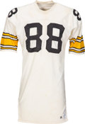 Football Collectibles:Uniforms, 1975 Lynn Swann Game Worn Pittsburgh Steelers Jersey, MEARS A10....