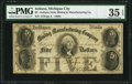 Obsoletes By State:Indiana, Michigan City, IN - Indiana State Mining and Manufacturing Company $5 June 10, 1855 Wolka 496-3 PMG Choice Very Fine 35 EP...