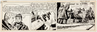 George Wunder Terry and the Pirates Daily Comic Strip Original Art dated 1-4-50 (News Syndicate Co., 1950)