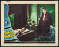 "Movie Posters:Horror, Son of Dracula (Universal, 1943). Fine+. Lobby Card (11"" X 14"").Horror.. ..."