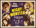 """Movie Posters:Horror, Night Monster (Universal, 1942). Fine+. Title Lobby Card (11"""" X 14""""). Horror.. ..."""