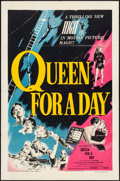 """Movie Posters:Drama, Queen for a Day (United Artists, 1951). Folded, Very Fine-. One Sheet (27"""" X 41""""). Drama.. ..."""