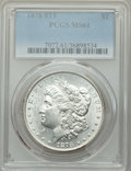 1878 8TF $1 MS61 PCGS. PCGS Population: (591/12063). NGC Census: (537/7996). CDN: $190 Whsle. Bid for problem-free NGC/P...