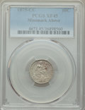 1875-CC 10C Mintmark Above Bow XF45 PCGS. PCGS Population: (27/271). NGC Census: (9/227). CDN: $90 Whsle. Bid for proble...