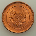 Finland:Russian Duchy, Finland: Russian Duchy. Nicholas II Pair of Assorted Minors,...(Total: 2 coins)