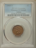 1909-S 1C -- Cleaning -- PCGS Genuine. VF Details. NGC Census: (232/2060). PCGS Population: (452/3365). CDN: $360 Whsle...