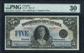 Canadian Currency, DC-27 $5 26.5.1924 PMG Very Fine 30.. ...