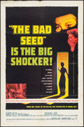 Movie Posters:Thriller, The Bad Seed (Warner Brothers, 1956). Folded, Fine/Very Fi...