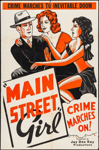"""Paroled from the Big House (Jay-Dee-Kay, R-1940s). Folded, Fine/Very Fine. One Sheet (27"""" X 41"""") & French..."""