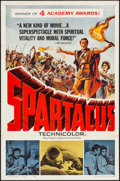 """Movie Posters:Action, Spartacus (Universal International, 1961). Very Fine-. Academy Award One Sheet (27"""" X 41""""). Action.. ..."""