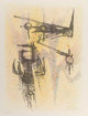 Wifredo Lam (1902-1982) Untitled, from the Flight Portfolio, 1967 Lithograph in colors on paper 25-3/4 x 19-3/4 i