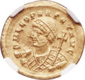 Ancients:Roman Imperial, Leo I, Eastern Roman Empire (AD 457-474). AV solidus (21mm...