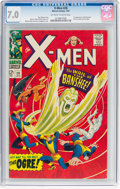 Silver Age (1956-1969):Superhero, X-Men #28 (Marvel, 1967) CGC FN/VF 7.0 Off-white to white pages....