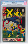 Silver Age (1956-1969):Superhero, X-Men #35 (Marvel, 1967) CGC VF/NM 9.0 Off-white to white ...