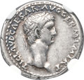 Ancients:Roman Imperial, Ancients: Claudius I (AD 41-54). AR denarius (19mm, 3.68 gm, 12h). NGC Choice VF 5/5 - 4/5....