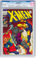 Silver Age (1956-1969):Superhero, X-Men #53 (Marvel, 1969) CGC NM 9.4 White pages....