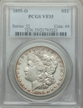 Morgan Dollars: , 1895-O $1 VF35 PCGS. PCGS Population: (431/4764). NGC Census: (217/3817). Mintage 450,000. ...