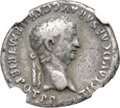 Ancients:Roman Imperial, Ancients: Claudius I (AD 41-54). AR denarius (18mm, 3.40 gm, 6h).NGC Fine 4/5 - 4/5....