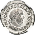 Ancients:Roman Imperial, Ancients: Balbinus (AD 238). AR denarius (20mm, 3.25 gm, 7h). NGCMS 5/5 - 4/5, Fine Style....