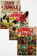 Golden Age (1938-1955):Miscellaneous, Atlas Jungle Group of 4 (Atlas, 1954-56). ... (Total: 4 )
