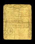Massachusetts December 7, 1775 3s/4d Very Good. This has always been a tough series that is very much in demand. The cen...