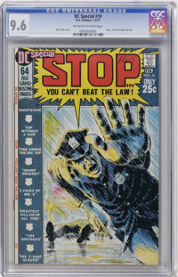 DC Special #10 (DC, 1971) CGC NM+ 9.6 Off-white to white pages