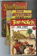 Pulps:Miscellaneous, Miscellaneous Pulp Group (Various Publishers, 1932-53) Condition: Average GD/VG.... (Total: 6)