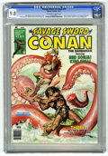 Magazines:Superhero, Savage Sword of Conan #23 (Marvel, 1977) CGC NM/MT 9.8 Off-white to white pages....