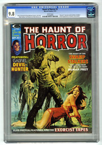 The Haunt of Horror #3 (Curtis, 1974) CGC NM/MT 9.8 White pages