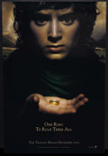 "Movie Posters:Fantasy, The Lord of the Rings: The Fellowship of the Ring (New Line, 2001).One Sheet (27"" X 40"") One Sheet (27"" X 40"") Advance. Fan..."