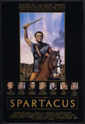 "Movie Posters:Adventure, Spartacus (Universal, R-1991). One Sheet (27"" X 41"") Double Sided.Epic. Starring Kirk Douglas, Laurence Olivier, Peter Usti..."