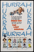 """Movie Posters:Drama, The Last Hurrah (Columbia, 1958). One Sheet (27"""" X 41""""). Political Drama. Starring Spencer Tracy, Jeffrey Hunter, Dianne Fos..."""