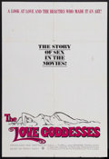 "Movie Posters:Documentary, The Love Goddesses (Walter Reade-Sterling, 1965). One Sheet (27"" X 41""). Documentary. Starring Marilyn Monroe, Dorothy Lamou..."
