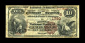 National Bank Notes:Kentucky, Richmond, KY - $10 1882 Brown Back Fr. 484 The Madison NB Ch. #(S)1790. The first of three titles used by this bank, wh...
