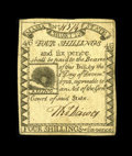 Colonial Notes:Massachusetts, Massachusetts 1779 4s/6d Extremely Fine-About New. A really lovely, lightly circulated Rising Sun note. The overall eye appe...