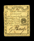 Colonial Notes:Massachusetts, Massachusetts 1779 3s/6d Very Fine. This is a lightly circulated, ideally centered Rising Sun note without a hint of a probl...