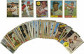 Autographs:Sports Cards, 1960's Baseball Cards Signed Group Lot of 100+. Assortment ofcardboard from the Sixties features most common players, thou...