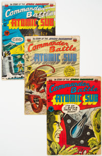 Commander Battle And The Atomic Sub Group of 7 (ACG, 1954-89).... (Total: 7 Comic Books)