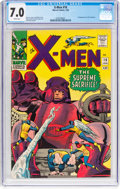 Silver Age (1956-1969):Superhero, X-Men #16 (Marvel, 1966) CGC FN/VF 7.0 White pages.
