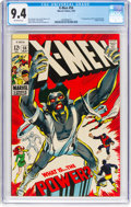 Silver Age (1956-1969):Superhero, X-Men #56 (Marvel, 1969) CGC NM 9.4 Off-white pages.