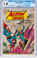 Silver Age (1956-1969):Superhero, Action Comics #252 (DC, 1959) CGC GD- 1.8 Cream to off-whitepages....