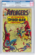 Silver Age (1956-1969):Superhero, The Avengers #11 (Marvel, 1964) CGC VF/NM 9.0 Off-white to whitepages....