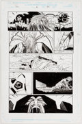 Original Comic Art:Panel Pages, John Romita Jr. and Klaus Johnson Thor #10 Story Page 22 Original Art (Marvel, 1999)....