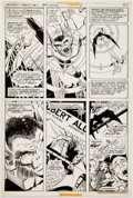 Original Comic Art:Panel Pages, Marshall Rogers and Tex Blaisdell The Batman Family #11 Story Page 6 Original Art (DC, 1977)....